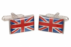 Union Jack Flag Cufflinks
